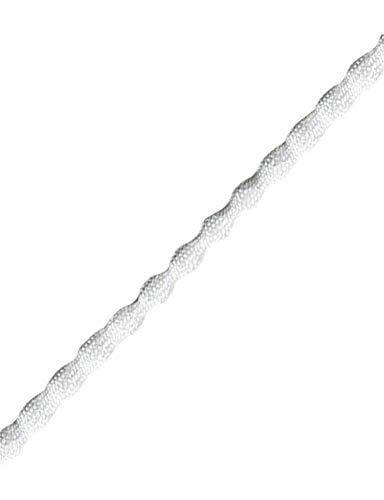 Rebord 5 m, Tissu, blanc, 150g/m