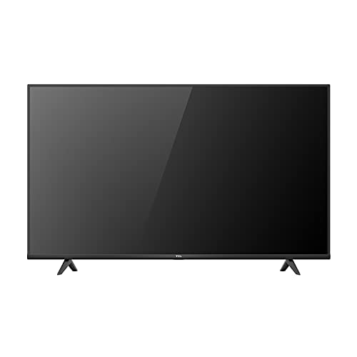 TCL 43P615K 43 Inch 4K Ultra HD Smart Android TV with Freeview Play, HDR10, Micro Dimming Pro, Prime Video, Netflix, YouTube, Dolby Audio, Bluetooth, WiFi, 2*HDMI, 1*USB, Slim Bezel - Black