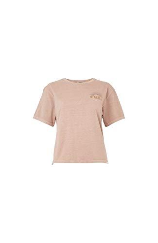 O'Neill LW Longboard Backprint T-Shirt Kurzarm für Damen M beige