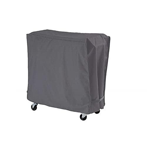 Zhandou Cubierta protectora para congelador de patio, portátil, plegable para carrito de bebidas al aire libre, funda protectora multifuncional para patio, a prueba de polvo