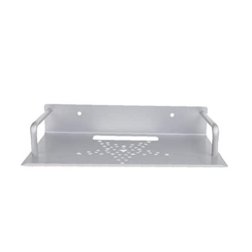 Caja de Almacenamiento de Montaje en el enrutador Estante de enrutador Conjunto de Corchete Soporte de Soporte Mini PC Reproductor de DVD DVD Soporte Rack de Aluminio Espacio de una Sola Capa