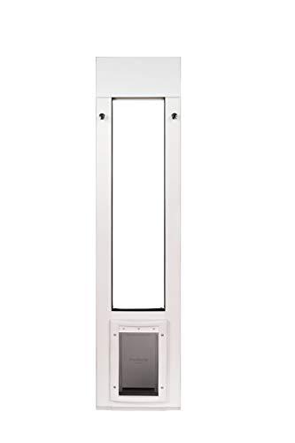 Patio Pacific Inc. Cat Door for Horizontal Sliding Windows with Small Plastic Pet Door