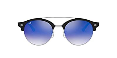 Ray-Ban RB4346 Clubround Double Bridge Sunglasses