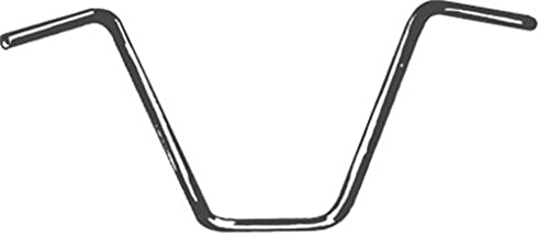 Emgo 1in. Street Ape Hanger 14in. Rise Handlebar - Chrome , Color: Chrome, Handle Bar Size: 1in.