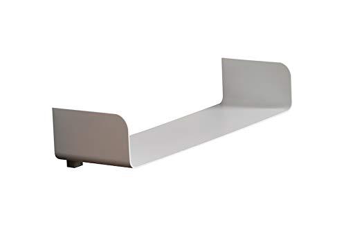 Estanteria de Pared. Diseño Moderno. Balda Flotante para Comedor, Dormitorio, Baño y Cocina. Resistente y Ligera. Color Blanco