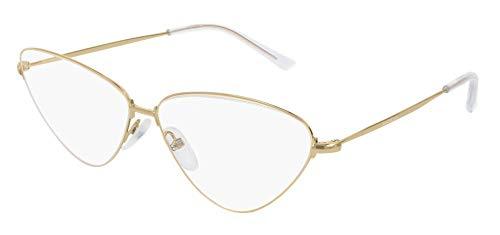 Balenciaga BB0015O - Occhiali da vista 003, oro 61 mm