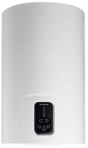 Ariston Lydos Eco Termo Electrico 80 litros | Calentador de Agua Vertical, Resistencia Blindada – Intelegente con Display de Leds