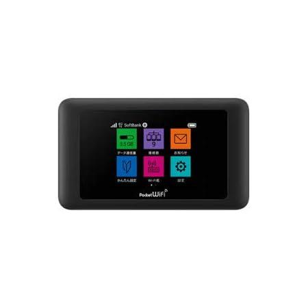 Softbank Huawei Pocket WiFi 601HW ブラック - Amazon.co.jp