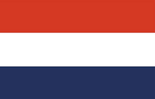 Etaia 5,4x8,4 cm Auto Aufkleber Fahne Flagge der Niederlande Holland Europa Länder Sticker Motorrad Handy