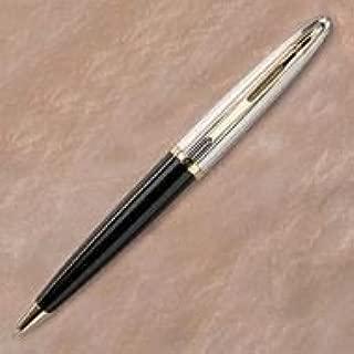 Carene Deluxe Ballpoint Pen, Black Laquer Barrel, Medium Point