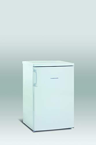 Scandomestic SFS11O - Congelador (Termostato regulable, Tres cajones, Una cubitera, Puerta reversible, 80 litros A++) blanco