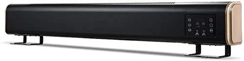 Kücheks Calentador de zócalo de 2100 W con 3 configuraciones de Calor y termostato Ajustable, protección contra vuelcos y sobrecalentamiento, Adecuado para Dormitorio, Oficina