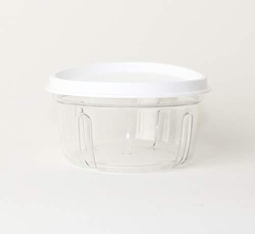 TW Tupperware Chef Turbo-Chef 1 x recipiente de repuesto transparente con tapa blanca D158 cebollas, cortador de cebolla Speedy Boy 27357 + bolígrafo