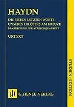 The Seven Last Words of Christ Arrangement for String Quartet Hob. Xx/1b Study Score