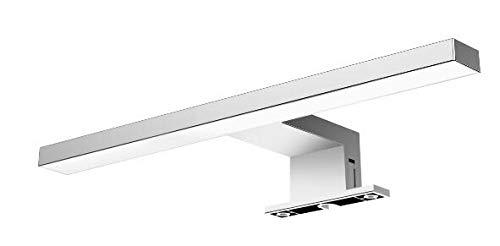 Solupa - Lámpara Aplique LED de Espejo para Baño Fortuna - Driver Integrado - ABS - IP44 - 30 x 10 x 4.50 cm / 4.8 w / 300 lm / Luz fría