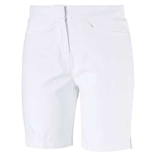 PUMA Bermuda de Golf Pounce pour Femme Bright White XS
