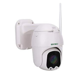 1080P Telecamera Wifi Esterno SV3C Pan Tilt Telecamera di Sorveglianza, Audio a 2 Vie, Rilevazione Movimento, 50m Visione Notturna videocamera