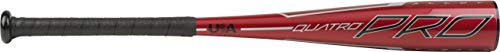 Rawlings 2020 Quatro Pro USA Youth Tball Bat, 26 inch (-11)