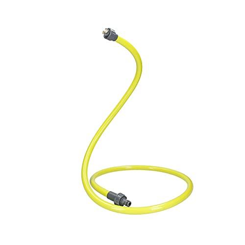 Ferrestock FSKNEB005 nebulizador portátil Flexible de Polietileno con Tratamiento UV, 2 boquillas de latón, 40-100 PSI, Verde