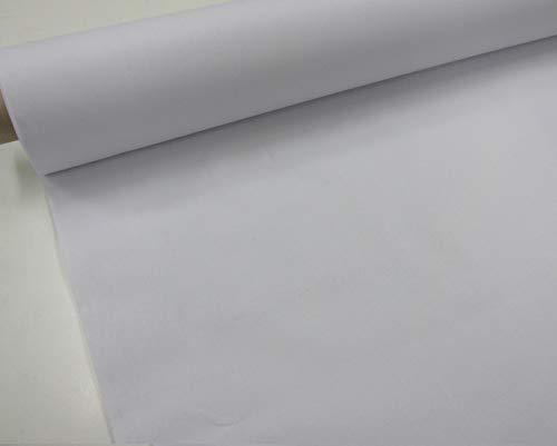 Confección Saymi Dragon Blanco - Metraje 0,50 MTS. Tejido sábana Color Blanco con Ancho 2,80 MTS.