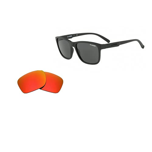 sunglasses restorer Lentes de Recambio Compatibles Polarizadas para Arnette 4255 Shoreditch, Fire Iridium