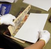 Microchamber Interleaving Paper .0025 White 100 Sheets Standard Size