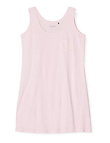 Schiesser Damen Sleepshirt 0/0 Arm, 90Cm Nachthemd, Rot (pink 504), 36 (Herstellergröße:036)