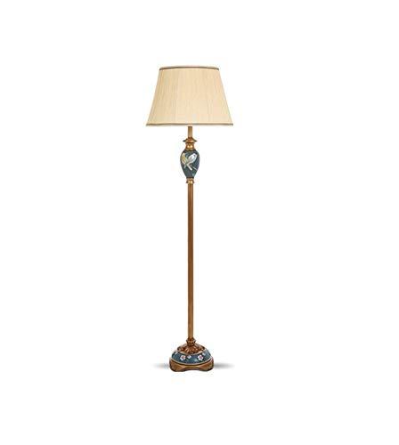 Hai Ying Amerikaanse vloerlamp woonkamer continental landelijk studie slaapkamer hoofdeinde verticale voetschakelaar E27