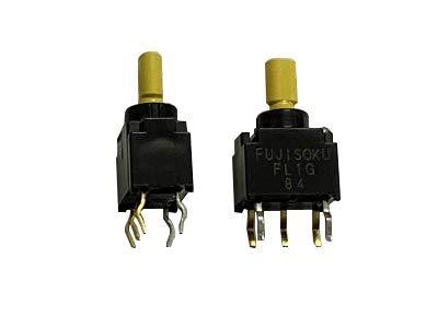 Japan FUJISOKU FL1G-2M-Z - Interruptor de palanca en miniatura (5 pies, 3 marchas, doble reinicio izquierdo y derecho, brazo basculante