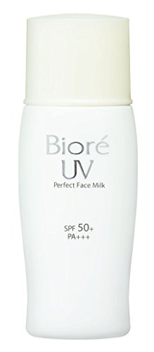 Biore, Sarasara Uv Perfect Face Milk Sunscreen 30Ml. Spf50 + Pa Für Das Gesicht