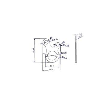 Corde Boucle Extérieure en Forme D'escargot Trois Trous Multifonctions Corde Boucle Rapide Nouage Outil Matériel De Camping Tente Réglage Bleu Boucle