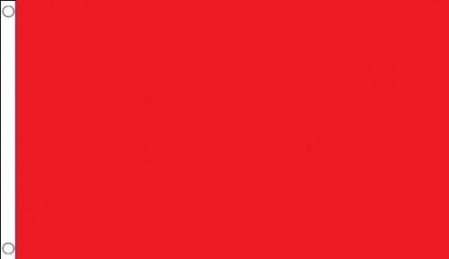 AZ FLAG Flagge ROTER Schiedsrichter 90x60cm - Motorsport RENNLEITUNG ROT Fahne 60 x 90 cm - flaggen Top Qualität