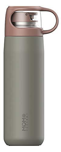 MOMO CONCEPT(モモコンセプト)カップ型水筒 真空断熱 マグボトル キューブ 380ml (ローリエグリーン)