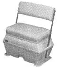 Todd Deluxe Large Cooler Livewell Boat Seat