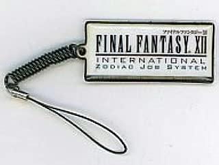 ファイナルファンタジーXII インターナショナル ゾディアックジョブシステム ファミ通PLAYSTATION+9月号特別付録 ファイナルファンタジーXII 液晶クリーナー・ストラップ