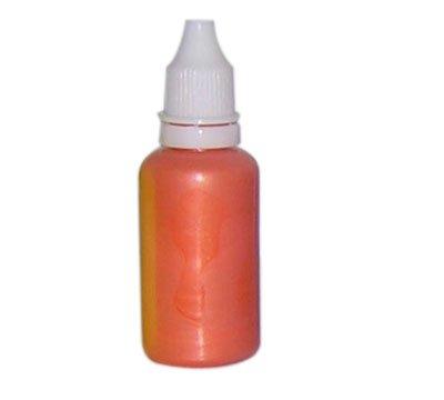 Airbrush Perleffekt Fingernagelfarbe Fengda pearly orange