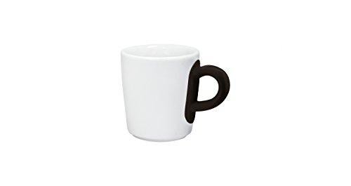 KAHLA Espresso-Obertasse TOUCH FIVE SENSES Samtweich/Velvety, 0,09 l schwarz (H.Nr. 394724A24003C)