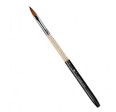 Bahia Nails - Pinceau Acrylique Brush Oval 8 Acrylic Brush Kolinski avec capuchon