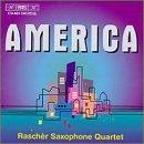 America: Wuorinen, Starer, Adler, Corbett, Et Al by Rascher Saxophone Qrt