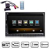 YODY Double Din Car Stereo with Bluetooth 7 Inch Touch Screen Car Audio 1080P Videos Car Media...