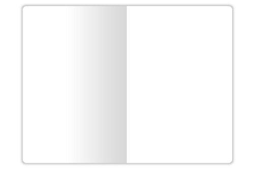 X47 - Organizer Zubehoer A6 Notizen blanko, Umschlag schwarz/weiß
