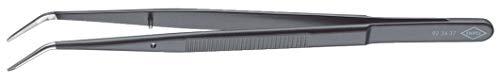 KNIPEX 92 34 37 Präzisions-Pinzette mit Führungsstift spitze Form 155 mm