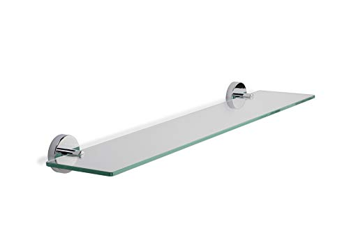 Croydex Flexi-Fix Epsom - Estante de Cristal para el baño