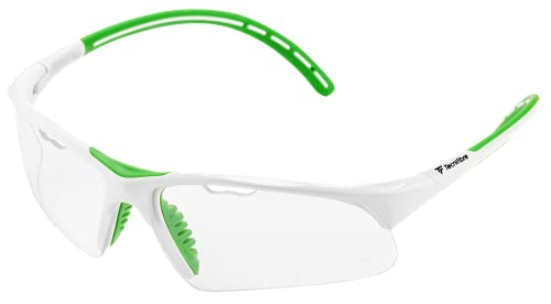 Tecnifibre SQUASH EYEWEAR White/Green スカッシュ アイガード ホワイト/グリーン