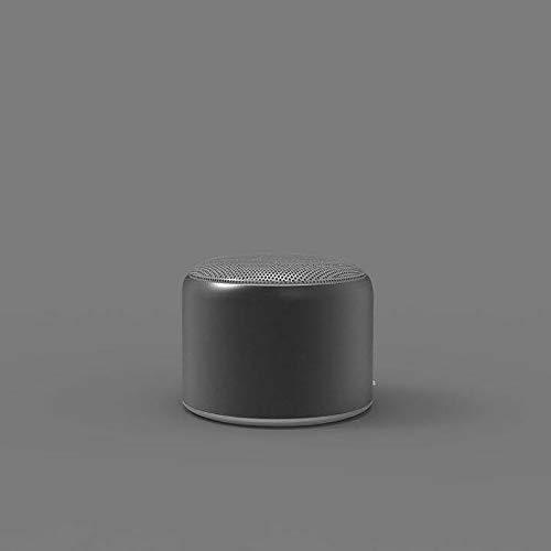 KDAQO Altavoces estéreo de Coche, subwoofer inalámbrico, Altavoces del Coche de Metal de Alta definición.Grado del IP Agua y al Polvo (Color : Black)