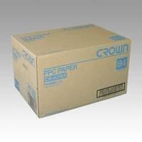 (まとめ買い) クラウン PPC用紙 B4 【5冊入】 CR-KPB4-W 【×3】