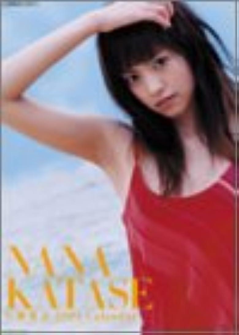 階下閃光贅沢片瀬那奈 2004年度カレンダー