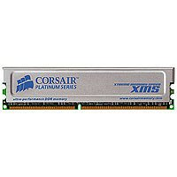 Corsair 1GB non-ECC DDR RAM with Heat Spreader (CMX1024-3200C2PT)