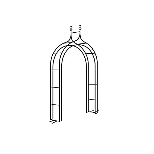 XINTONGSPP Archi da Giardino, Arch Flower Stand Europeo e Americano in Ferro battuto in Ferro...