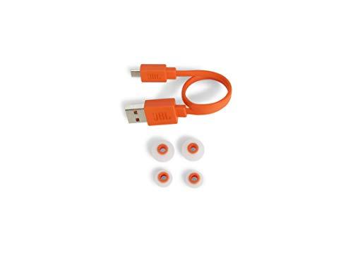JBL Tune110BT In-Ear Bluetooth-Kopfhörer in Weiß – Kabellose Ohrhörer mit integriertem Mikrofon – Musik Streaming bis zu 6 Stunden mit nur einer Akku-Ladung Bild 4*